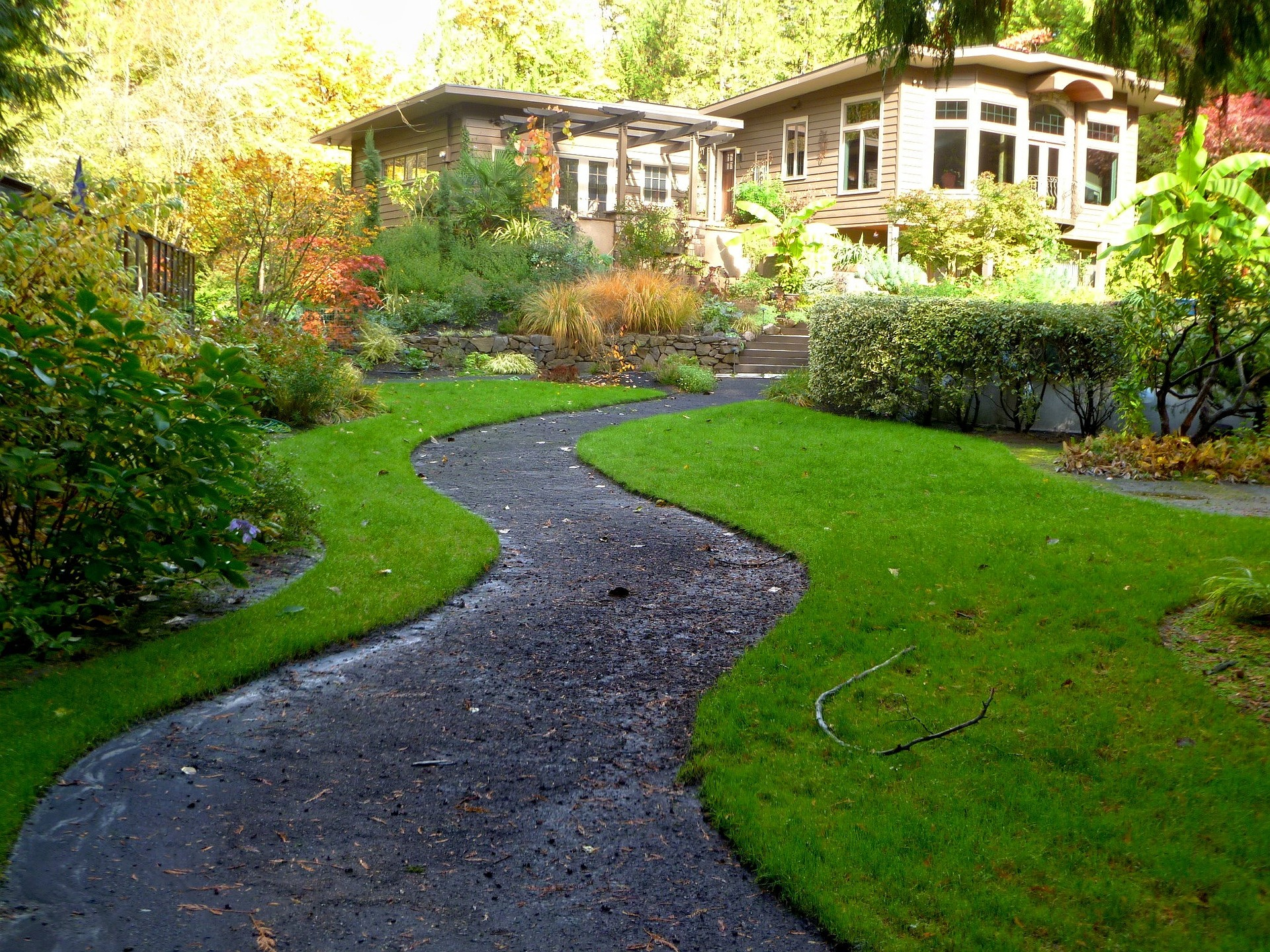 Lawn maintenance by C & C Property Maintenance in Keene NH