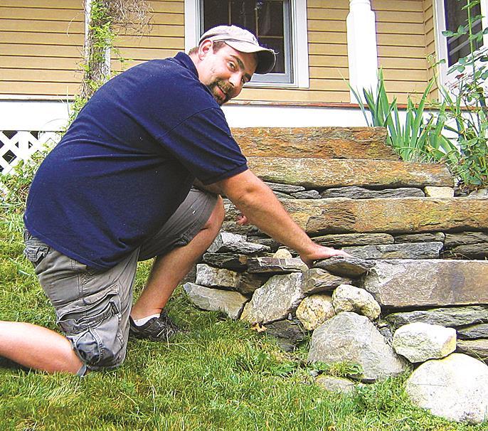 Chris Gage, owner of C & C Property Maintenance in Keene NH