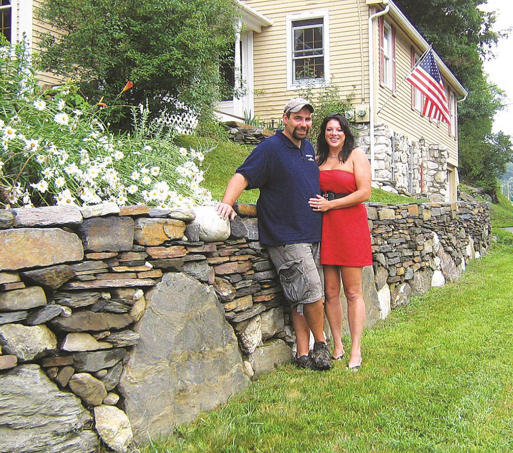 Chris Gage and Charissa Gage of C & C Property Maintenance in Keene NH